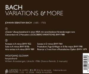 BACH - Variations and more